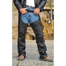 milwaukee ranger leather chaps black 102932 jeans u0026 pants at