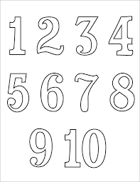 Number Coloring Pages 1 20 Pdf Pleasurable Design Ideas Numbers 10 14 Printable