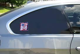 Patriotic USA Heart Retro Sticker – U.S. Custom Stickers