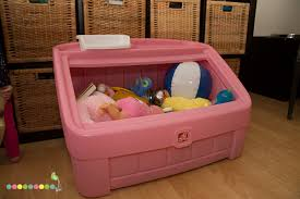 Step2 Princess Palace Twin Bed by Hgg 2 In 1 Toy Box And Art Lid By Step2 Ourkidsmom