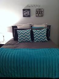Top Gray And Teal Bedroom On Black Bedrooms Grey