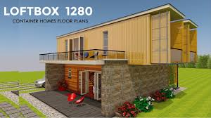 100 Homes From Shipping Containers Floor Plans Container HOMES PLANS And MODULAR PREFAB Design Ideas LOFTBOX 1280