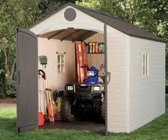 Suncast Alpine Shed Extension by Lifetime 6402 8 U0027 X 12 5 U0027 Storage Shed Storage Shed Reviews
