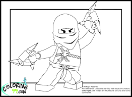 Fancy Lego Ninja Coloring Pages 25 With Additional For Adults