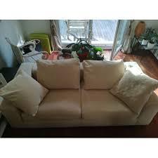 canap poltron et sofa ds 2 canapés poltrone sofa beige entierement déhoussable