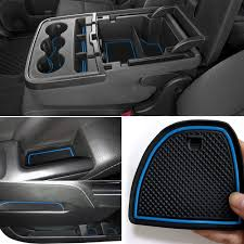 100 Chevy Silverado Truck Parts Amazoncom Auovo AntiDust Custom Fit Cup And Center Console Liner