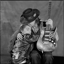 Stevie Ray Vaughan And His Fiancee Jana Taken In Dallas Studio Just Days Before He Died A Helicopter Crash