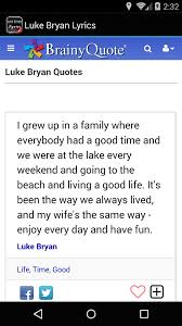 Amazon.com: Luke Bryan Lyrics: Appstore For Android Luke Bryan Shares The Story Behind His Single Fast Sounds Like Luke Bryan Performing That Old Tacklebox Youtube Best Place To Sell Last Minute Concert Tickets Missoula Mt We Rode In Trucksluke Bryanlyrics Thats My Kind Of Night Tour Perfomance Video Music Sleeping Eden General Country Most People Are Good Lyrics Rode In Trucks By Pandora Amazoncom Appstore For Android Doin Thing Genius