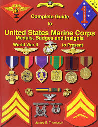 Military Awards And Decorations Records by Complete Guide To United States Marine Corps Medals Badges And