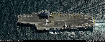 porte avions nucléaire charles de gaulle r 91 flaps aviación