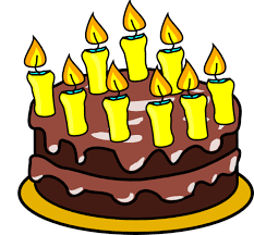 Birthday Cake Clip Art 79