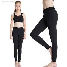 2018 Wholesale 2016 White Yoga Pants Blank Sport Leggings Women Sexy Sports Fitness Running Gym Tights Trousers 2020 From Biangye