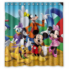 Mickey Mouse Bathroom Sets At Walmart by Disney King Size Comforters Mickey Mouse Shower Curtain Target