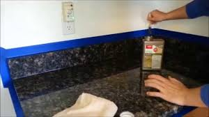 Dupont Tile Sealer High Gloss by Diy How To Put Dupont Or Any Brand Sealer On Granite Counter Tops