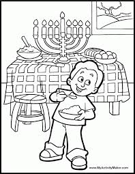 Printable Colouring Sheets Cut Paste Menorah