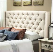 White King Headboard Upholstered by Bedroom Fabulous White Tufted Headboard King Extra Tall Tufted