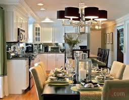 Flush Mount Dining Room Light
