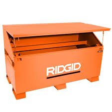 RIDGID 60 In. X 37 In. Jobsite Storage Chest-3068-OS - The Home Depot Alinum Truck Tool Boxes Equipment Accsories The Husky 70 In Topsider Black Lowprofile Boxthd70lpb 713 X 205 176 Matte Full Size Dewalt Tstak Vi 17 Deep Box Boxdwst17806 Home Depot Lund 53 In Gun 8227 With Wheel 26 Plastic With Metal Latches Black235580 37 Mobile Job Utility Cart Black209261 Portable Storage Homak 20 Handcarry Redrd120004 18 Drawer Chest Trucks Or Midsize Cargo Management