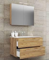 vcm 3 tlg waschplatz badmöbel badezimmer set waschtisch waschbecken schubladen keramik badinos spiegelschrank 3 tlg waschplatz waschtisch badinos