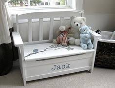 custom baseball toy box is a perfect addition to any nursery
