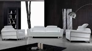 canapé design blanc ensemble canape design rivera blanc mobilier cuir
