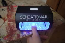 Sensationail Pro 3060 Led Lamp by Beauty U0026 Le Chic Review Sensationail Gel Manicure Kits They