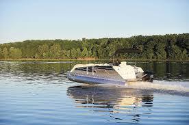 Crest Pontoon Captains Chair by Just Around The Corner Pontoon U0026 Deck Boat Magazine