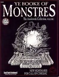 Ye Booke Of Monstres Vol 1