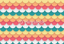 Abstract Geometric Paper Cutting Curve ShapeTextured Effect Colour Background Vector Art