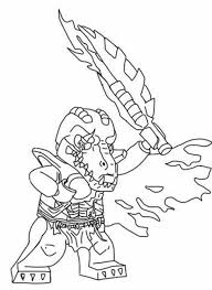 Cragger Drew His Sword In Lego Chima Coloring Pages Batch