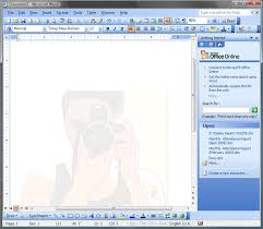 Background On MS Word Document