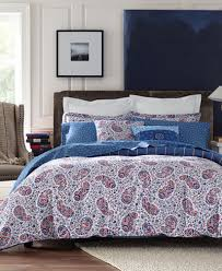 Macys Com Bedding by Tommy Hilfiger Tottenham Paisley Bedding Collection Bedding