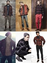 Mens Vintage Clothing Checked Shirts For Men Spirit Costume Modern Flannels Warm Shirt Outfit