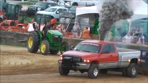 100 Truck Pulling Hitch SCARY MOMENT At Pull When Breaks YouTube