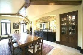 Dining Room Buffet Decor Table