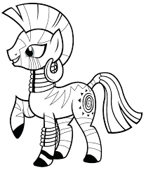 My Little Pony Coloring Sheets Pinkie Pie