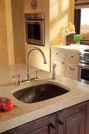 Delta Trinsic Kitchen Faucet Champagne Bronze by Delta Faucet 2497lf Cz Cassidy Two Handle Kitchen Faucet With