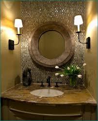 bathroom ideas rubbed bronze oval bathroom mirrors with