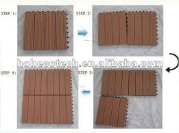 wood plastic composite building material outdoor flooring board