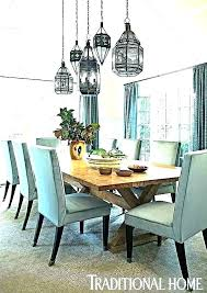 Kitchen Table Light Fixtures Dining Above For Room S Fixture Height Over Kitche