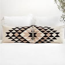 Small Decorative Lumbar Pillows by Black And White Decorative Lumbar Pillow Handmade In Peru U2013 The