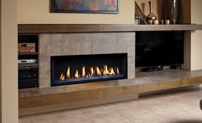 Living Room With Fireplace Design by Heat N Glo Double Sided Gas Fireplace Design Ideas Master