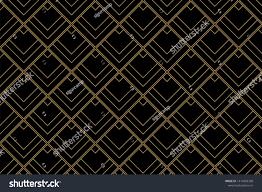 100 Art Deco Shape Pattern Background Diamond