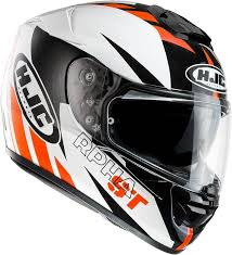 Hjc Cl 17 Chin Curtain Canada by Hjc Rpha St Rugal Helmet R Pha Black White Red Hjc Clmax 2