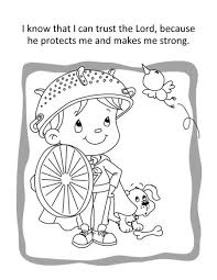 Psalm 91 Coloring And Activity Book For Children