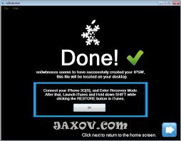Jailbreak iOS 4 1 on iPhone 3GS New Bootrom with Sn0wbreeze 2 0