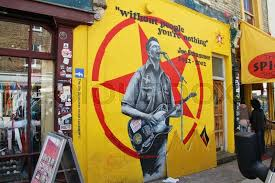 joe strummer the clash without the people you are nothing