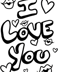Coloring Pages Of I Love You 12 My Boyfriend Heart