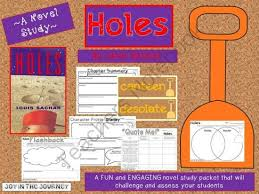 Holes MEGA Activity Packet A Novel Study Of The Book By Louis Sachar