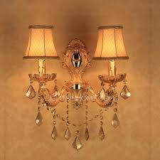 2 light wall mounted candle sconces for living room